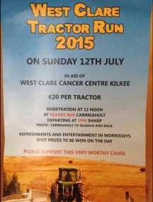 West Clare Tractor Run 2015