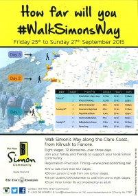 Walk in Aid of Mid West Simon Community
