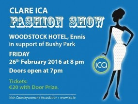 Clare ICA Fashion Show